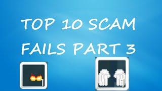 Growtopia | TOP 10 SCAM FAILS! (PART 3)
