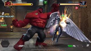 HOW TO USE RED HULK MCOC