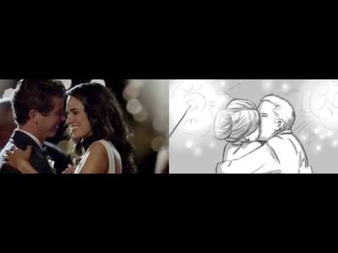 "Commercial and storyboards comparison for Reeds Jewelers ""Wedding Spot"""