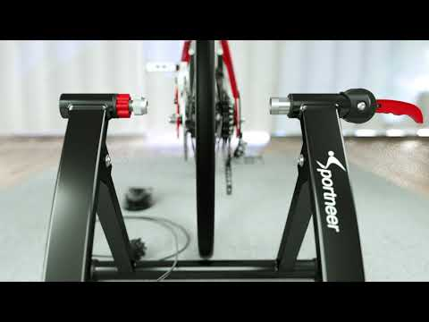 Sportneer Indoor Steel Bike Trainer Stand
