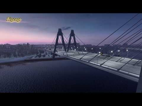 Euro Truck Simulator 2- Over the border of Ex USSR northern countries