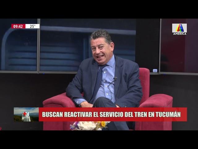 Buscan reactivar el servicio de tren en Tucumán