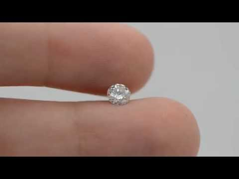 My Diamonds -P-2465-3 - Round Shape 0.45 Carat D SI2 Natural Loose Diamond