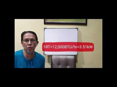 Download Kenali hubungan hefrigeran Ton, Horsepower dan kilowatt