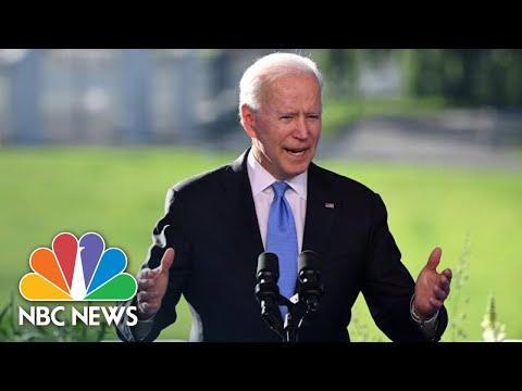 Watch Joe Biden's Full Press Conference After Putin Summit | NBC News