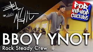 Bboy Ynot (Rock Steady Crew) tłumaczy Toprocki