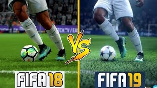 FIFA 19 VS FIFA 18 | Graphics Comparison | ** Is it Worth to Upgrade **