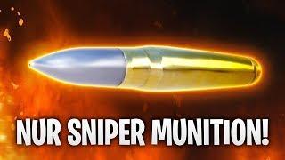 NUR SNIPER MUNITION ERLAUBT! 🎯 | Fortnite: Battle Royale