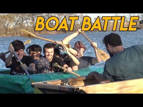 $60 vs $800,000 Homemade Boat Challenge (ft. OFFICIAL DUCK STUDIOS)