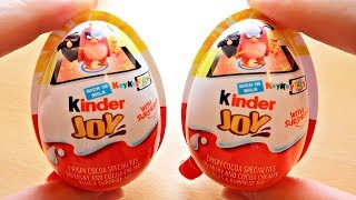 Kinder Joy with Angry Birds Toy Edition