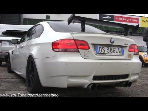 BMW M3 E92 Straight Pipes Exhaust INSANE Sound!