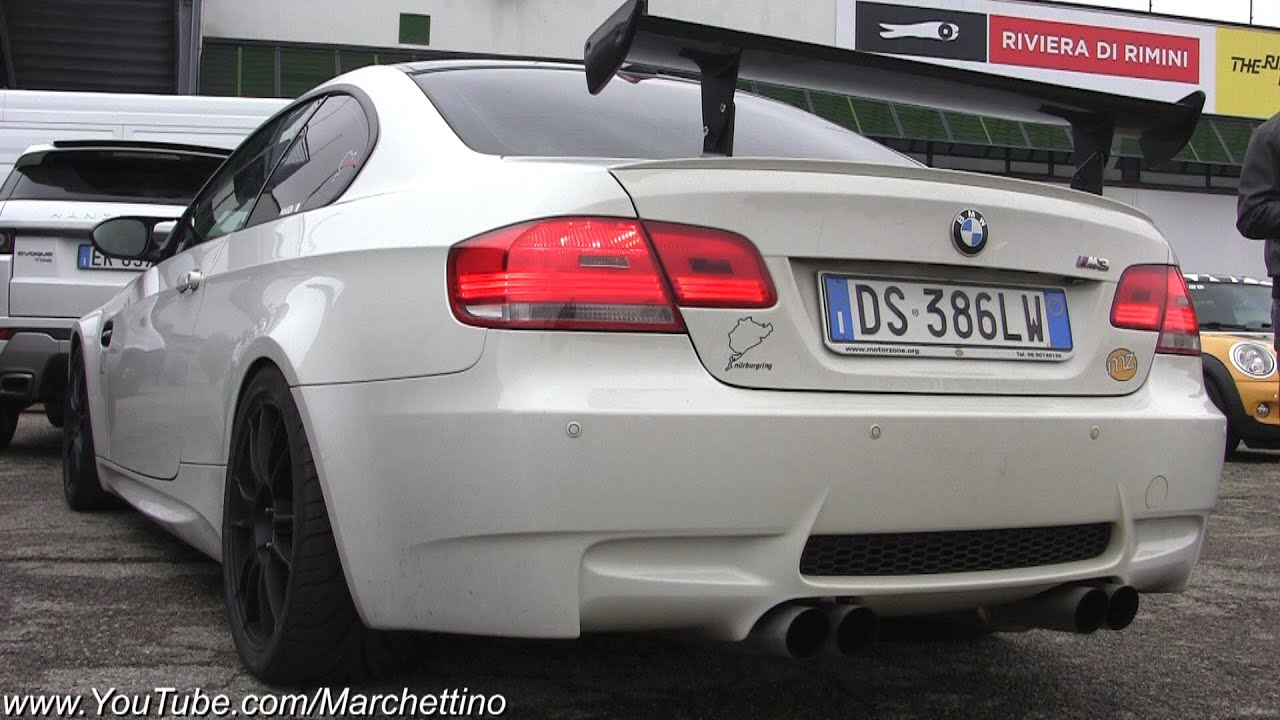Bmw M3 E92 Straight Pipes Exhaust Insane Sound Youtube