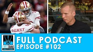 Week 14 Review: 49ers win Game of the Year, Pats' O is broken| Chris Simms Unbuttoned (Ep. 102 FULL)