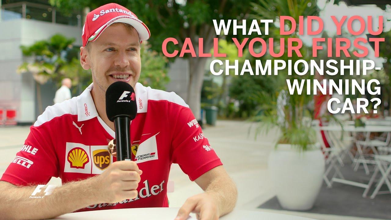 Grill The Grid - Sebastian Vettel