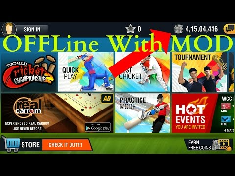 How To Download World Cricket Championship 2 MOD With Offline For Android & Proof
