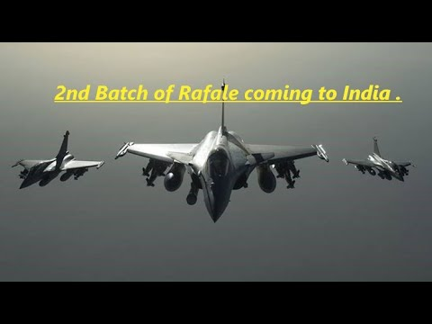 #Rafale 2nd batch of Rafale coming to India.