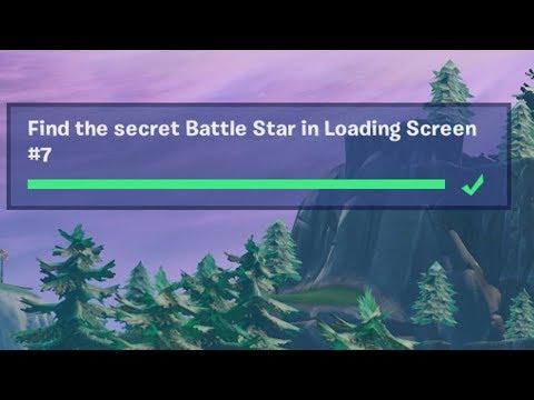 ✅ Find The Secret Battle Star In Loading Screen 7 - Week 7 Season 8