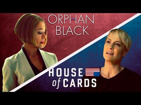 Rachel Duncan meets Claire Underwood OB  HOUSE OF CARDS