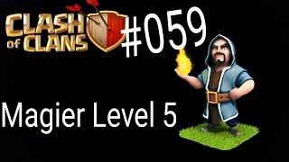 Clash of Clans Deutsch 059 Handy Magier Level 5