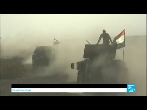 Iraq: Alongside the Golden Division, an Iraqi elite unit fighting ISIS near Mosul