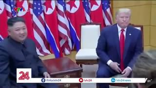 Ông Trump trở thành Tổng thống Mỹ đầu tiên đặt chân lên đất Triều Tiên   VTV24