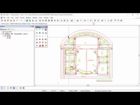 DDS-CAD: Importing and editing DWG files as Xrefs