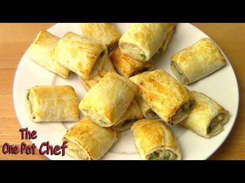 Sweet Chilli Chicken Sausage Rolls   One Pot Chef