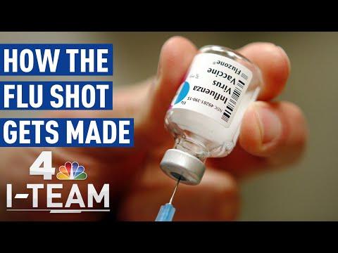 How The Flu Vaccine Is Made | NBC 4 I-Team