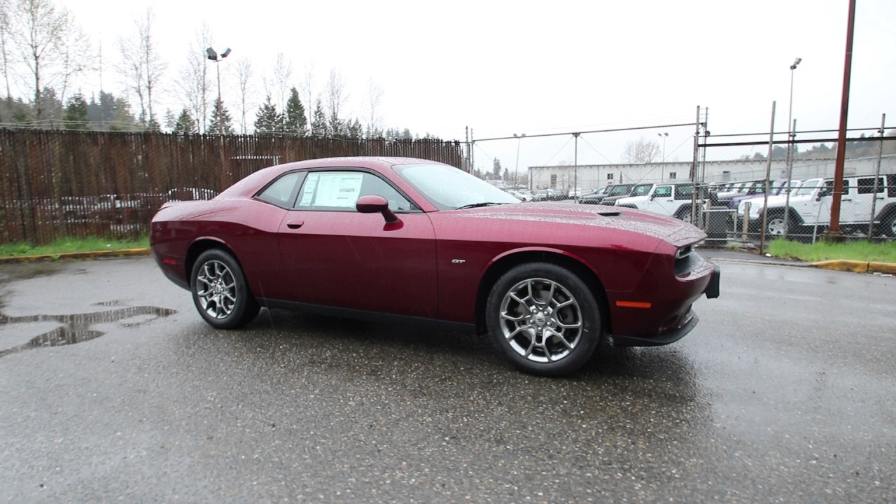 2017 Dodge Challenger GT | Octane Red Pearlcoat | HH592853 | Redmond | Seattle | - YouTube