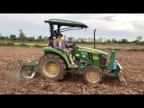 จอห์นเดียร์ JOHN DEERE 3036E คูโบต้า Kubota L4508 ไถนาคู่สุดยอด Tractor 2019