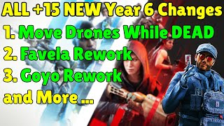 *NEW* ALL Major +15 Changes & Reworks To Happen In Year 6 [ 2021] - Rainbow Six Siege Crimson Heist