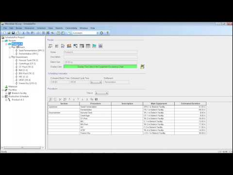 SchedulePro - Microbial BioManufacturing (Part 1)
