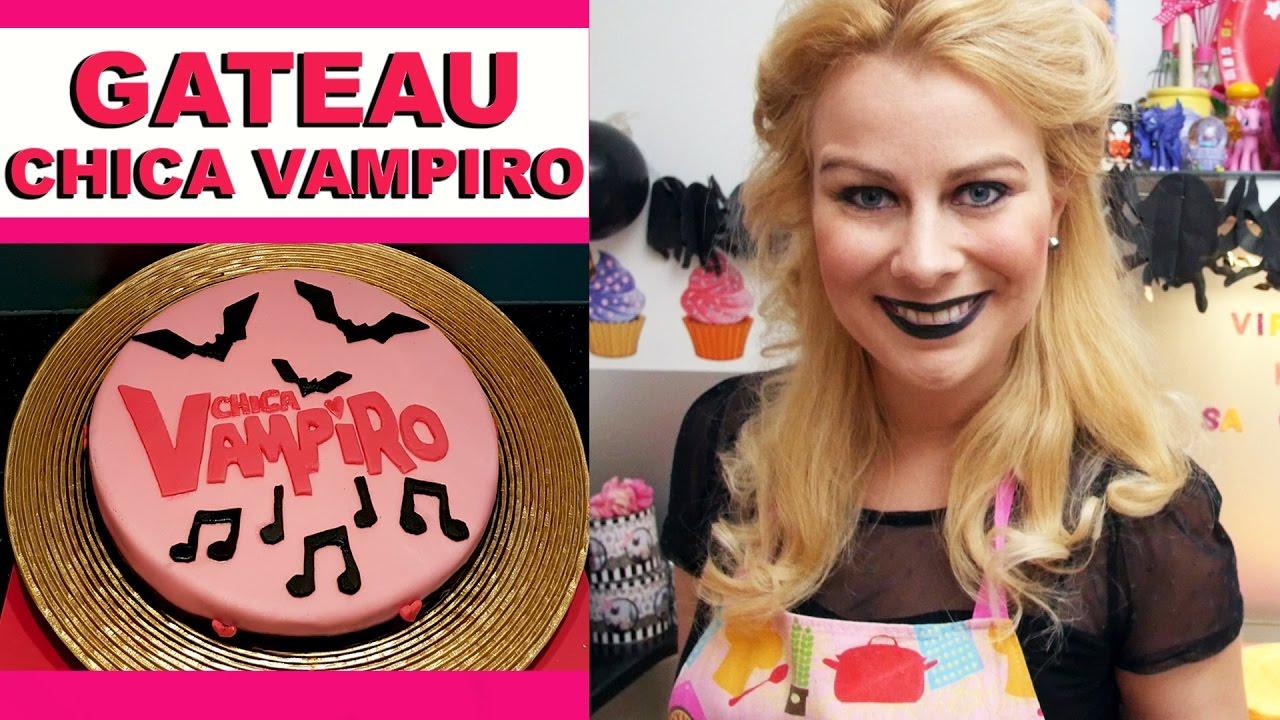 G teau chica vampiro virginie fait sa cuisine 66 youtube - Virgine fait sa cuisine ...