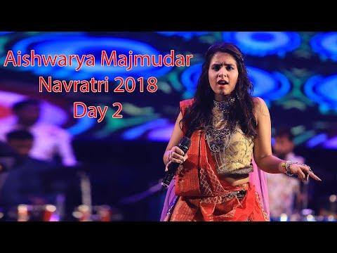 Live Day 2 Aishwariya Majmudar Navratri 2018 Garden City 11-10-2018