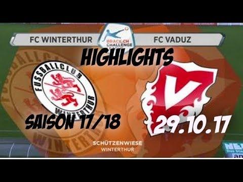 Fc Winterthur vs Fc Vaduz (29.10.17)