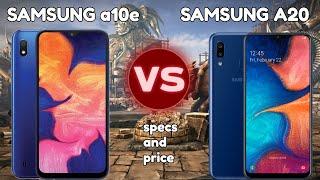 Samsung Galaxy A10e Vs Samsung Galaxy A20 Specs and Price// Boost Mobile