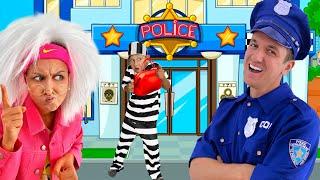Воришка Сеня убегает от Полицейских