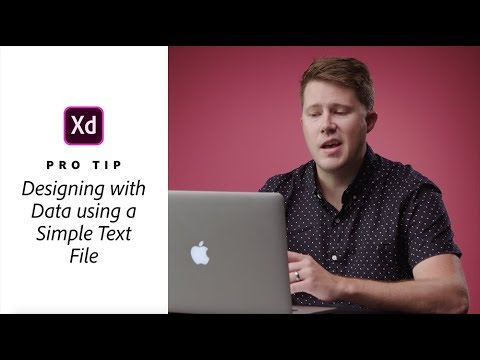 Pro Tips from Creative Pros: Austin Mayer on Designing with Data in XD | Adobe Creative Cloud