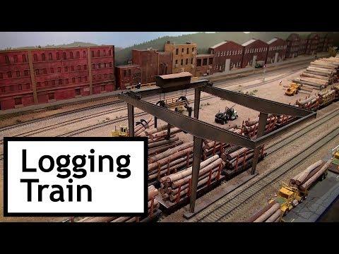 OC&E Logging Train at the Colorado Model Railroad Museum