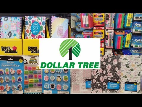 NEW DOLLAR TREE BACK TO SCHOOL 2019 | SHOP WITH ME