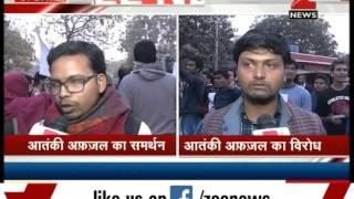 JNU students call terrorist Afzal Guru a martyr amid anti-nationalist slogans