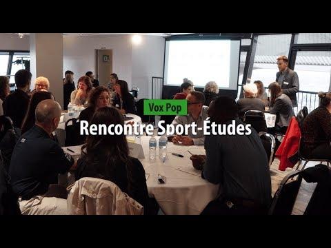 Vox Pop Rencontre Sport Études