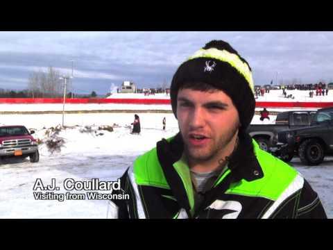 2017 49th International 500 Snowmobile Race In Sault Ste Marie, MI