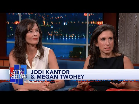 Jodi Kantor & Megan Twohey: What's Next For Me Too? - YouTube
