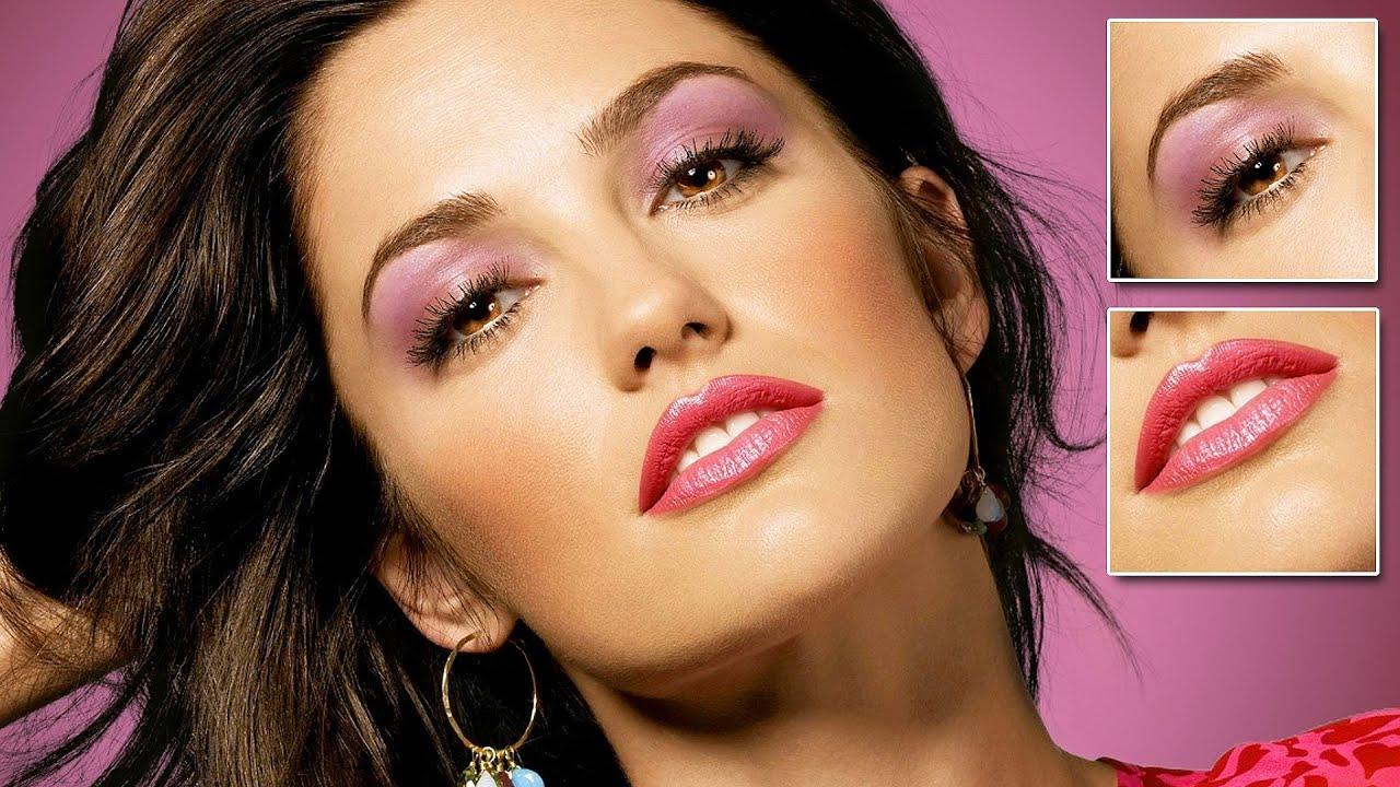 სწრაფი მაკიაჟი – Fast makeup in Photoshop