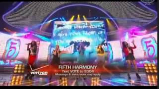 Fifth Harmony   Give Your Heart a Break   The X Factor USA 2012   Live show 10 Top 6