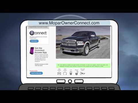 2014 Uconnect Access | Mobile App