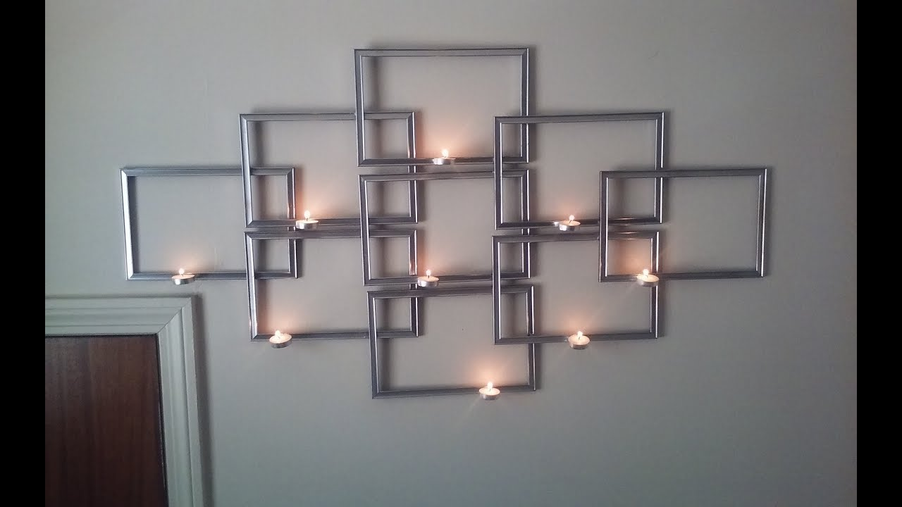 Diy Dollar Tree Piazza Sconce Wall Decor Youtube