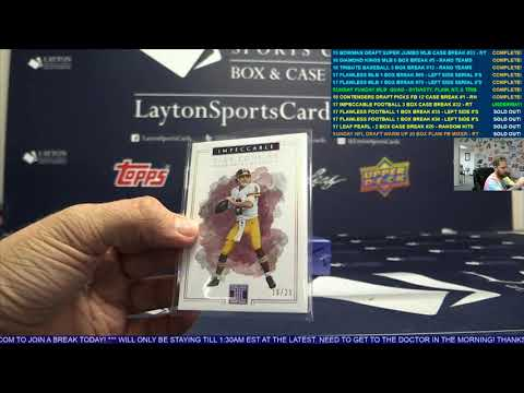 2017 Panini Impeccable Football Hobby 3 Box Case Break #32 – RANDOM TEAMS