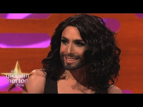 Conchita Wurst Talks About Her Beard - The Graham Norton Show